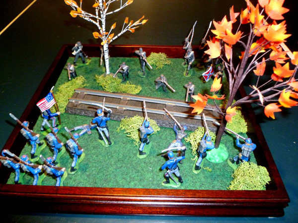 American Civil War Diorama made by Mike Leahy