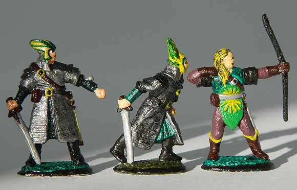 Tadhg O'Riordan painted 32mm fantasy armies figures.