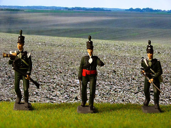 95th British Rifles painted by Marcel De Koning