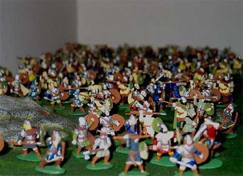 Hadrian's Wall Diorama  army