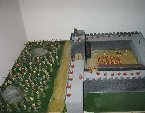 Hadrian's Wall Diorama