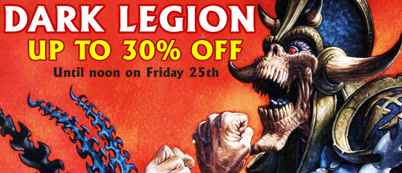 Warzone Dark Legion Banner - Save up to 30% until noon on Friday 25th GMT+1