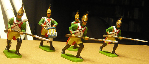 54mm French Foot Dragoons