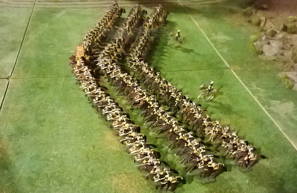 One Skvadron Cavalry 125 men Attack! 8 Skvadroner = One Cavalry Regiment!