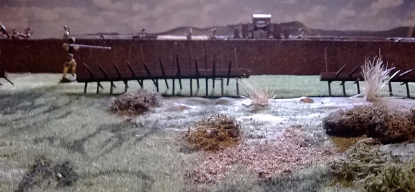Jan Arnerdal diorama - Russian Cannon in Redutt