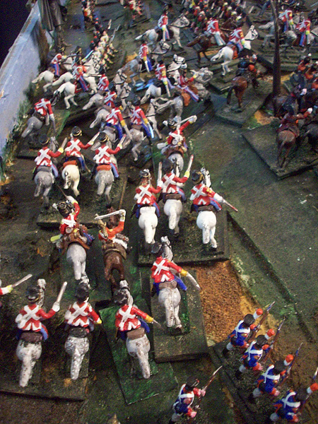 La Haye Saint Battle of Waterloo by David Olive