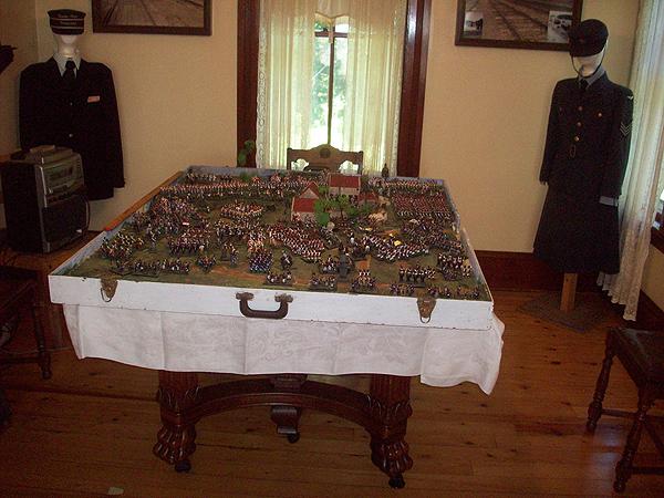 La Haye Saint Battle of Waterloo by David Olive