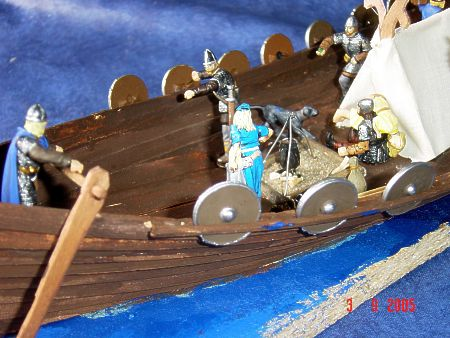 Viking Ship Diorama