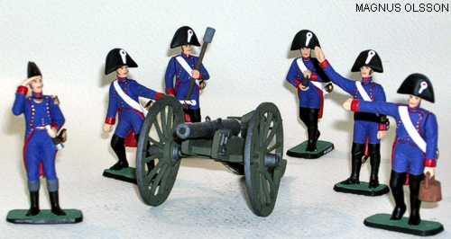 Magnus Olsson napoleonic line artillery