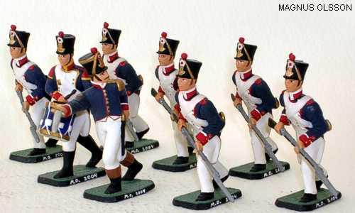 Magnus Olsson napoleonic line infantry