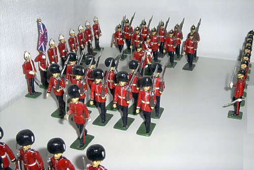 Michel De Bremaecker toy soldier photo